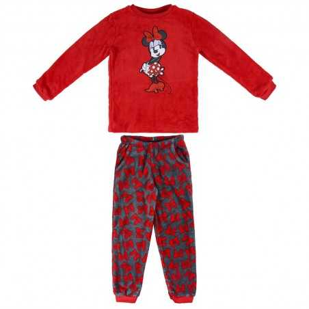 Pijama Coral Fleece Minnie...