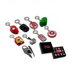 Display Llaveros 3D Marvel